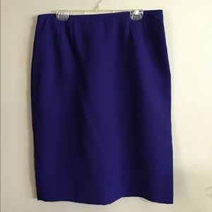 JONES WEAR Blue Skirt Plus size14